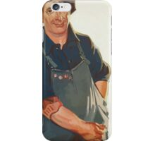 Sure well finish the job! Victory Liberty Loan iPhone Case/Skin