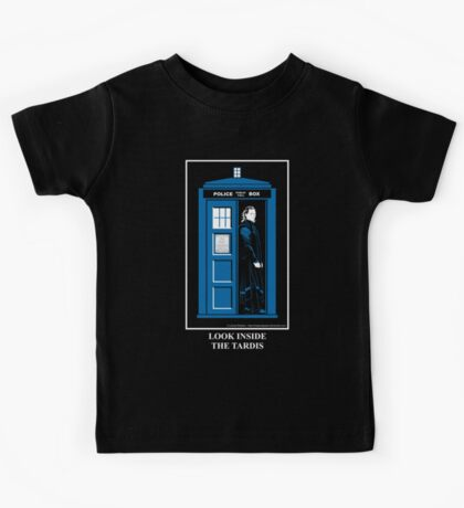 Look Inside the TARDIS Kids Tee