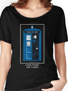 Look Inside the TARDIS Women's Relaxed Fit T-Shirt