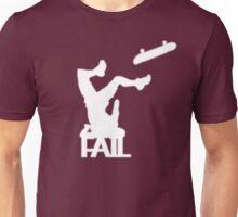 FAIL! Skater bail - FACEPLANT! Unisex T-Shirt