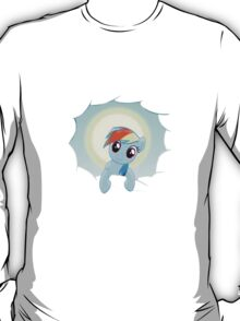 Rainbow Dash Cloud Appearance T-Shirt