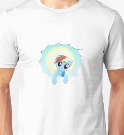 Rainbow Dash Cloud Appearance Unisex T-Shirt