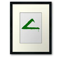 League Framed Print