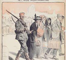 Exposition du 1er au 30 octobre 1917 organisée par la Ligue Souvenez Vous documents photographies affiches aux crimes allemands by wetdryvac