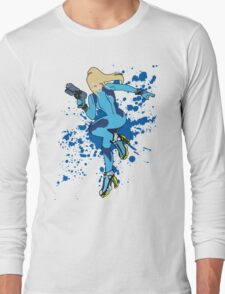 Zero Suit Samus - Super Smash Bros Long Sleeve T-Shirt