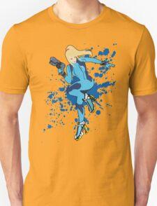 Zero Suit Samus - Super Smash Bros T-Shirt