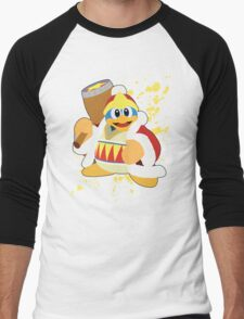 King Dedede - Super Smash Bros Men's Baseball ¾ T-Shirt