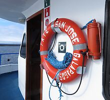 San Jose lifebuoy. by Anne Scantlebury