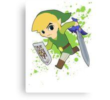 Toon Link - Super Smash Bros Canvas Print