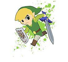 Toon Link - Super Smash Bros Photographic Print