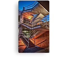 Broadway St. Staircase 2 Canvas Print