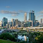 Perth from King's Park by Christine Smith