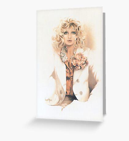 """Belinda"" Oil On Canvas Greeting Card"
