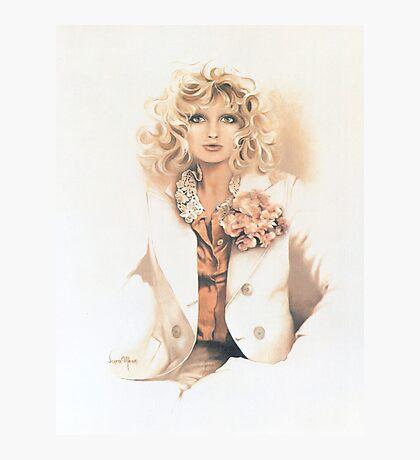 """Belinda"" Oil On Canvas Photographic Print"