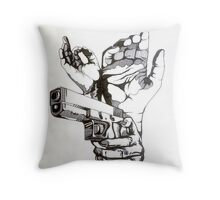 Procrastination Monday's Throw Pillow