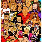 icons of wrestling by jamesedmarsh