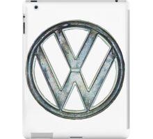 VW Logo coloured iPad Case/Skin