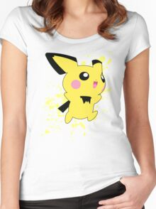 Pichu - Super Smash Bros Women's Fitted Scoop T-Shirt