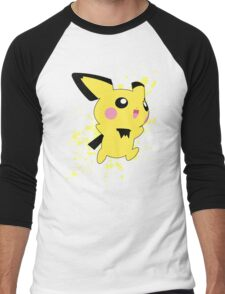 Pichu - Super Smash Bros Men's Baseball ¾ T-Shirt