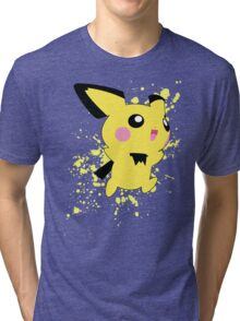 Pichu - Super Smash Bros Tri-blend T-Shirt
