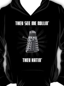 Doctor Who - DALEK - Exterminating Dirty T-Shirt