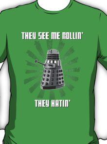 Doctor Who - DALEK - Exterminating Dirty T-Shirt