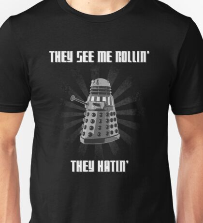 Doctor Who - DALEK - Exterminating Dirty Unisex T-Shirt
