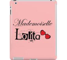 mademoiselle lolita iPad Case/Skin