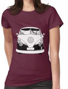 Tassie split stamp Womens Fitted T-Shirt