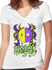 Insect Women's Fitted V-Neck T-Shirt