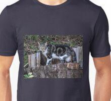 Wary Cat.......... Unisex T-Shirt