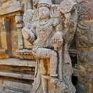 Statue - Hampi by Ravi Chandra