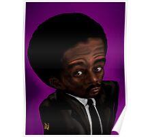 Richard Pryor Caricature portrait  Poster