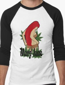 Mary Jane Men's Baseball ¾ T-Shirt