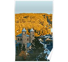 Autumn in Bad Muenstereifel Poster