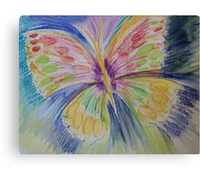 BUTTERFLY to flutter by and settle with you! Canvas Print