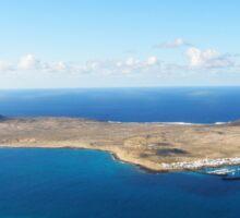 Isla Graciosa I Sticker