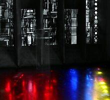 Painting the floor by John Dalkin