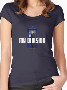 lestrade's new division Women's Fitted Scoop T-Shirt