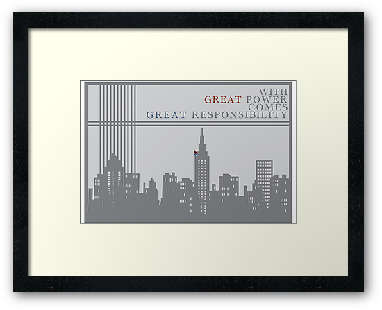 Spider-man New York Skyline Quote by Emily Farquharson