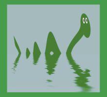 Loch Ness Monster Kids Tee