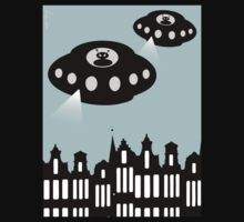 Aliens invading Amsterdam by funkyworm