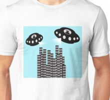 Alien invasion Unisex T-Shirt