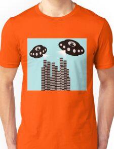 Alien invasion Unisex T-Shirt