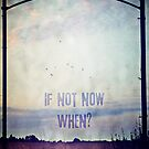 If not now, when? (Colour) by Sybille Sterk