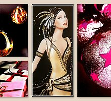 Xmas Art Deco by ©The Creative  Minds