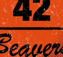 Teen Wolf Beavers Sticker