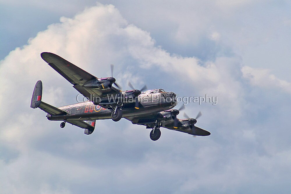 """Lest We Forget"" - BBMF Lancaster - Dunsfold 2012 by Colin  Williams Photography"