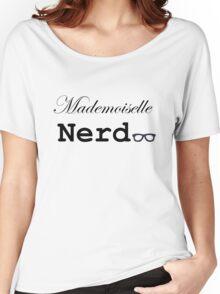 mademoiselle nerd Women's Relaxed Fit T-Shirt