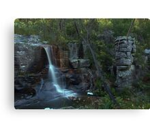 turret falls Canvas Print